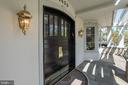 Front Porch - 4409 WALSH ST, CHEVY CHASE