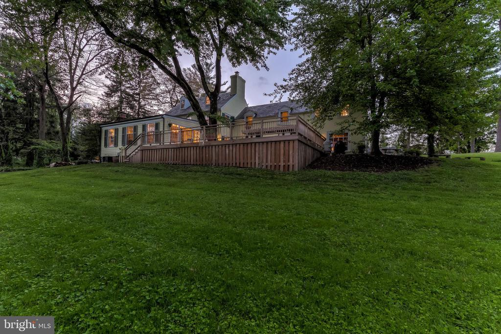 Rear View - 12 CONISTON RD, TOWSON