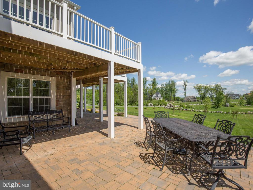 Exterior Rear--Patio and Deck - 308 SAINT ANDREWS CT, WINCHESTER