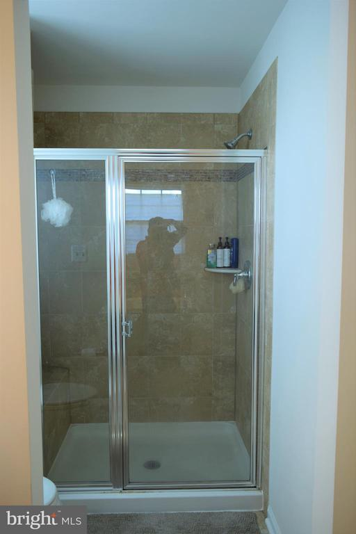 Shower in the Master Room - 22876 CHESTNUT OAK TER, STERLING