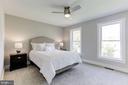 Master bedroom - 109 WILSON AVE NW, LEESBURG