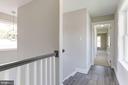 Upper level overlook - 109 WILSON AVE NW, LEESBURG