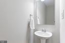 Main floor powder room - 109 WILSON AVE NW, LEESBURG