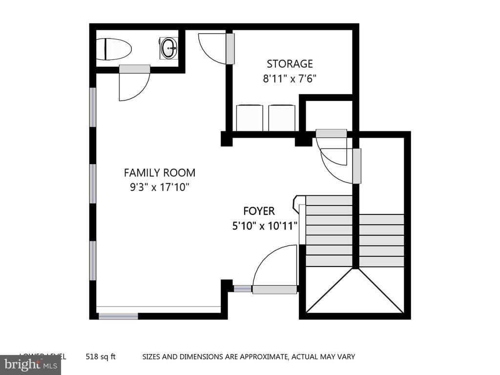 1st Floor Plan - 47831 SCOTSBOROUGH SQ, STERLING