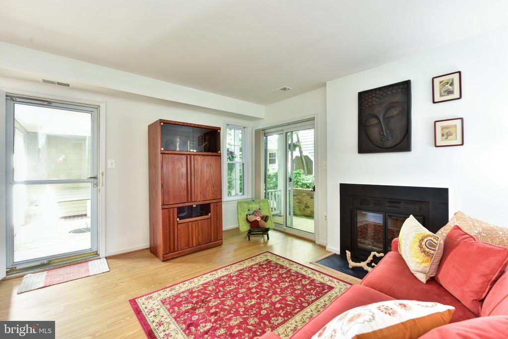 Living Room - 2809 S WOODROW ST #A, ARLINGTON