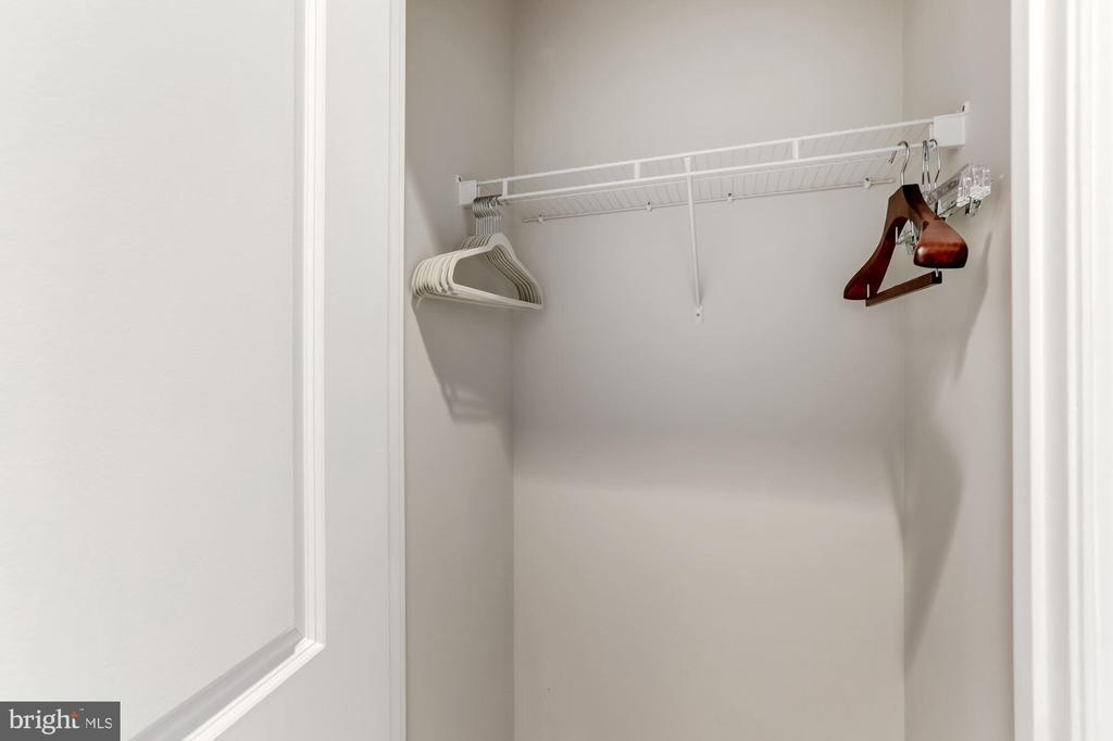 Master bedroom second closet - 11800 SUNSET HILLS RD #126, RESTON