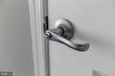 Upgraded door knobs - 11800 SUNSET HILLS RD #126, RESTON