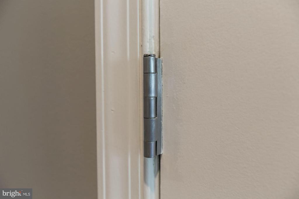 Upgraded door hinges - 11800 SUNSET HILLS RD #126, RESTON