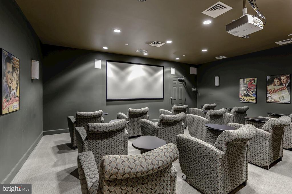Media room - 11800 SUNSET HILLS RD #126, RESTON