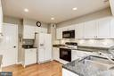 Remodeled Kitchen w/Granite Countertops - 7814 MORNING GLEN LN, ALEXANDRIA