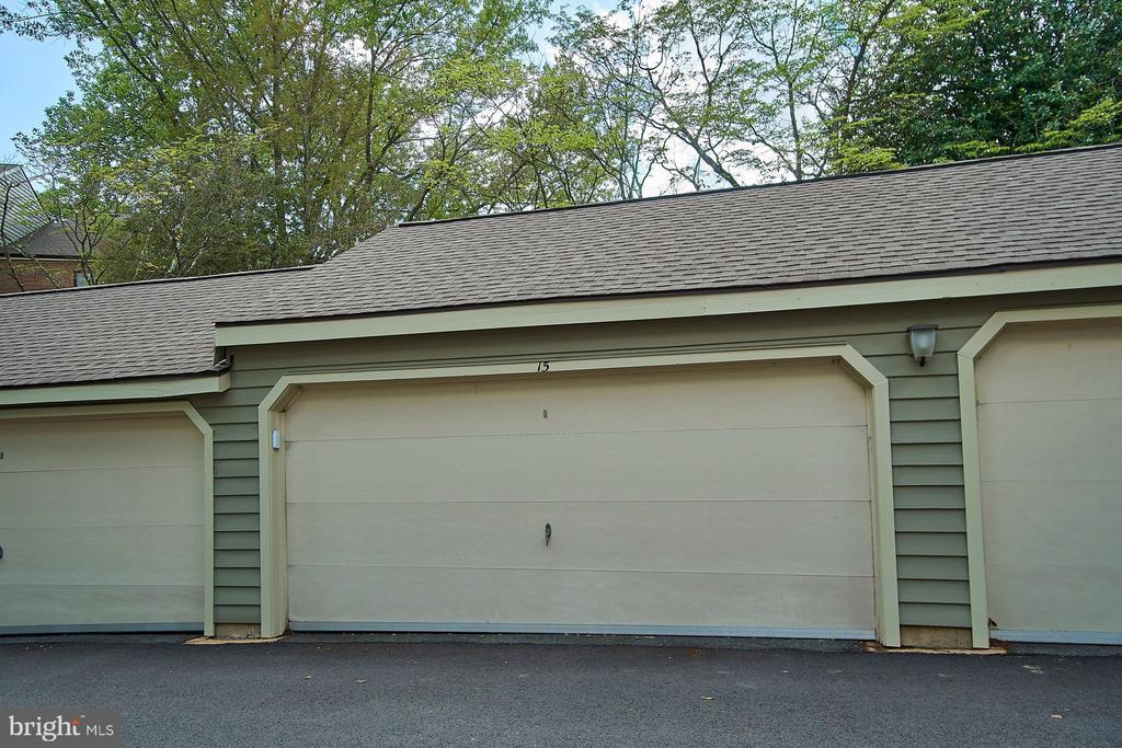 Two-Car Garage with Extra Storage - 11180 HARBOR CT, RESTON