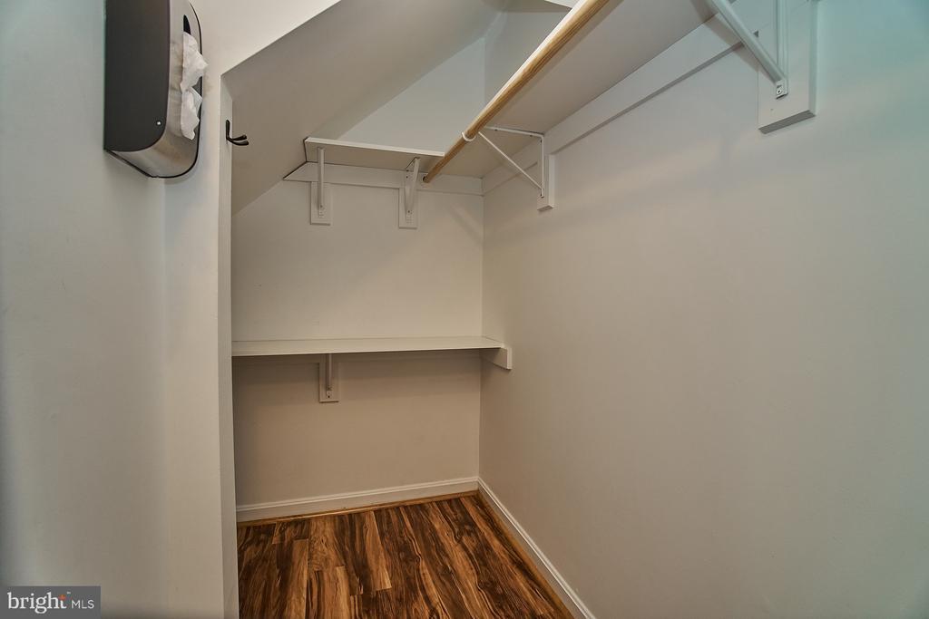 Large Foyer Closet - 11180 HARBOR CT, RESTON