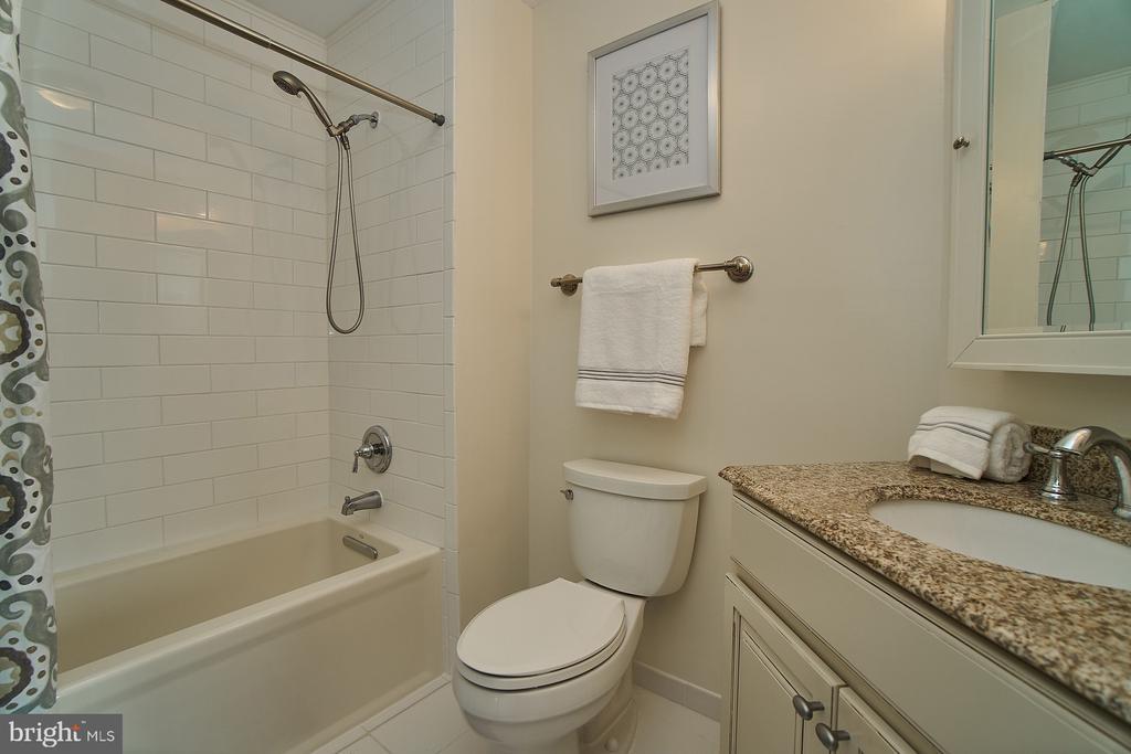 Renovated Master Bathroom - 11180 HARBOR CT, RESTON