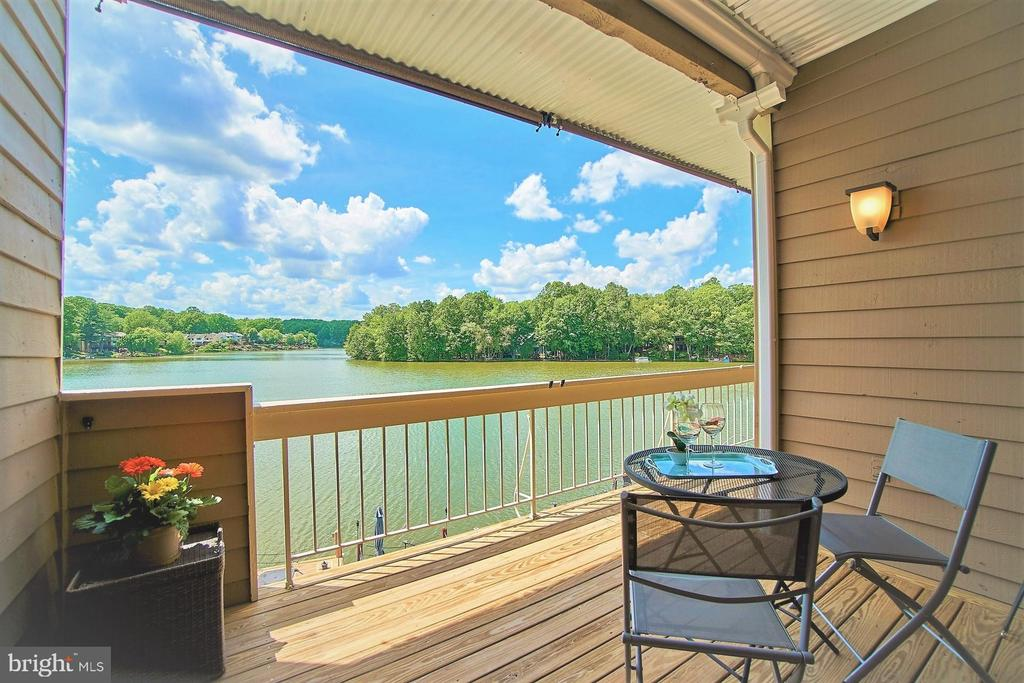 Gorgeous View from Balcony - 11180 HARBOR CT, RESTON