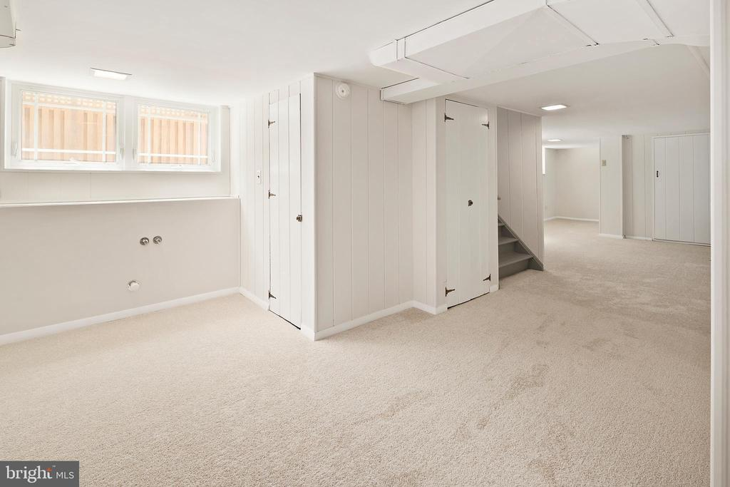 Ample space on lower level - 801 N JACKSON ST, ARLINGTON