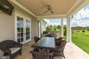 Grilling/Eating space on patio - 22883 CREIGHTON FARMS DR, LEESBURG