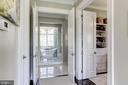 Entrance to master closets and bath - 22883 CREIGHTON FARMS DR, LEESBURG
