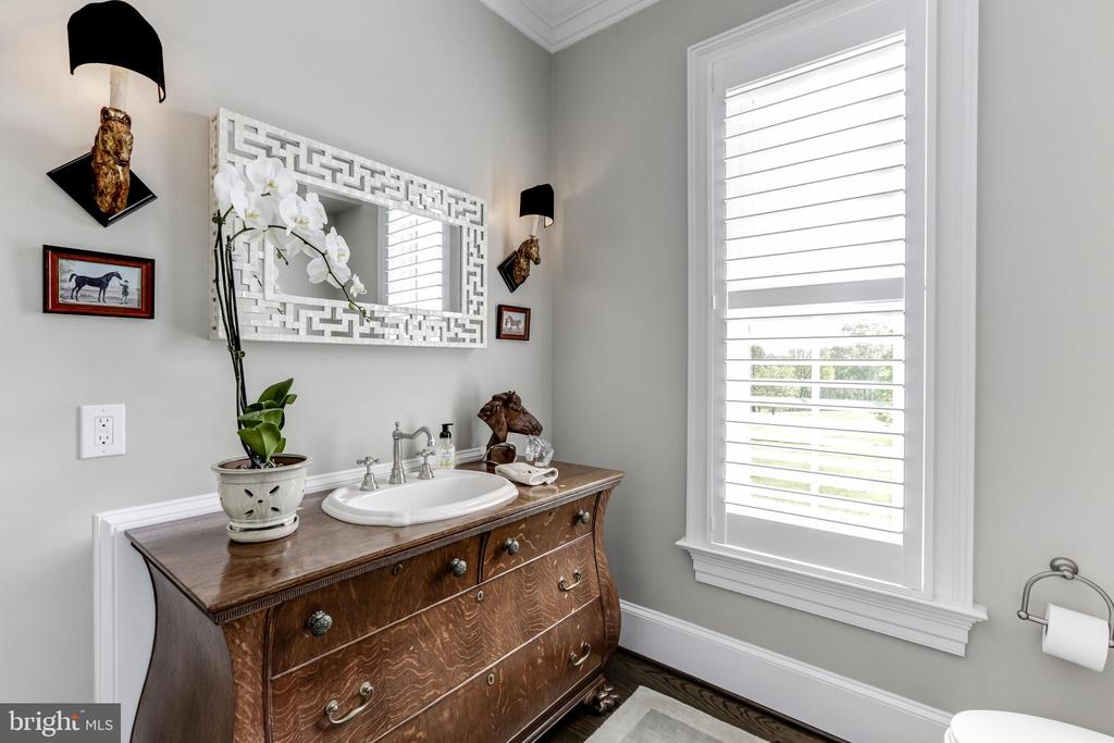 Powder Room - 22883 CREIGHTON FARMS DR, LEESBURG
