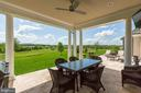 Patio with Views - 22883 CREIGHTON FARMS DR, LEESBURG