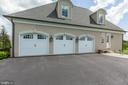 3 car attached garage - 22883 CREIGHTON FARMS DR, LEESBURG
