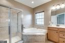Soaking tub and separate shower - 43172 FLEUR DR, LEESBURG