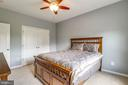 Fans and lights in every bedroom - 43172 FLEUR DR, LEESBURG