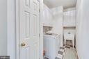 Main floor laundry - 3813 NALLS RD, ALEXANDRIA