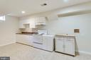 Basement kitchen - 3813 NALLS RD, ALEXANDRIA