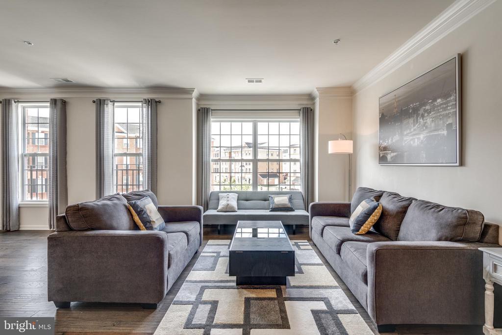 Sun-Filled Living Room - 23506 BELVOIR WOODS TER, ASHBURN