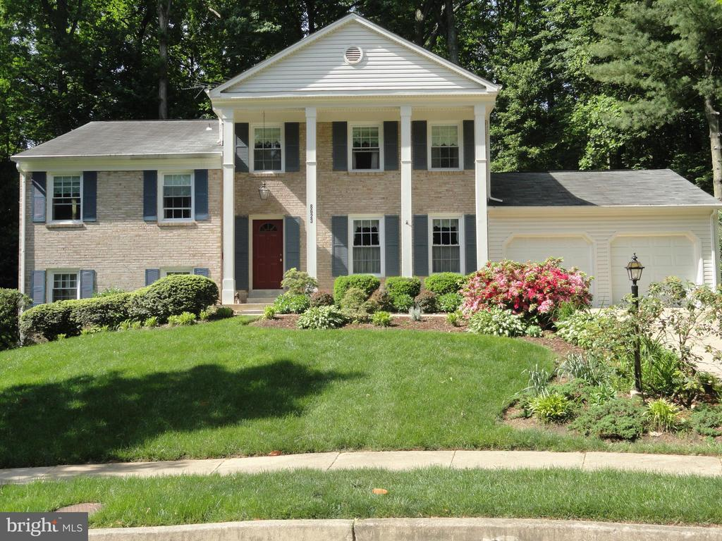 Exterior Front - 8623 APPLETON CT, ANNANDALE
