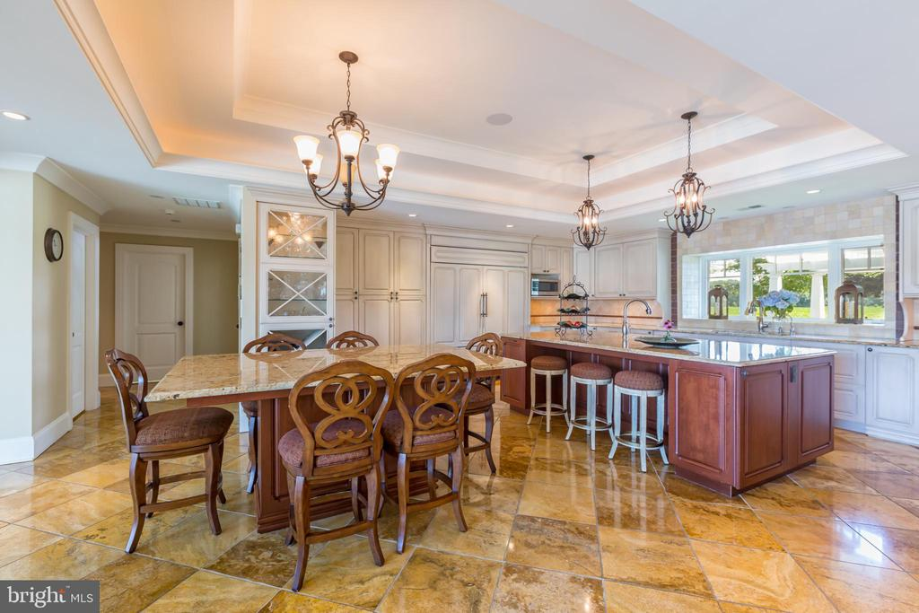 Two granite top oversized kitchen islands - 1820 MILVALE RD, ANNAPOLIS