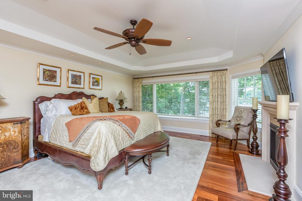 Mastser Bedroom with fireplace - 1820 MILVALE RD, ANNAPOLIS