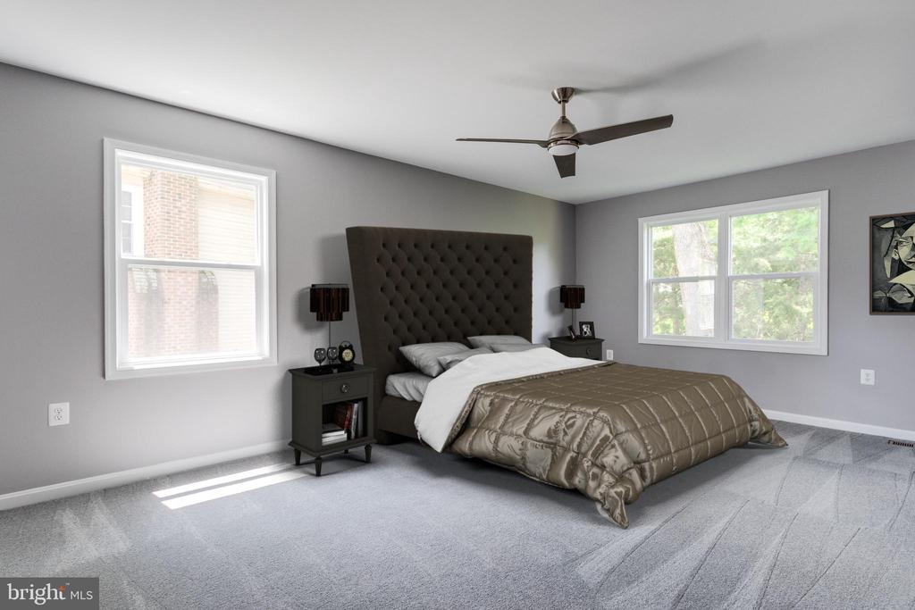 Master Bedroom - 8741 SHADOW LAWN CT, ANNANDALE