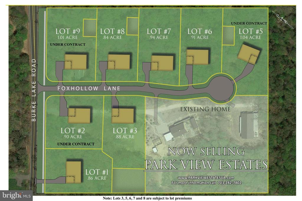 Park View Estates Subdivision Plan - 10317 BURKE LAKE RD, FAIRFAX STATION