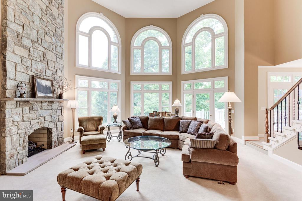 Family Rm with panoramic private setting! - 3530 SAINT AUGUSTINE LN, OAKTON