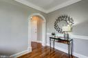 Custom Wood Archway + Plaster Crown Molding - 3900 CONNECTICUT AVE NW #506-G, WASHINGTON