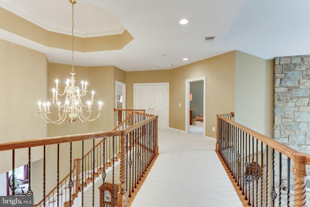 Walkway to Master Bedroom! - 3530 SAINT AUGUSTINE LN, OAKTON