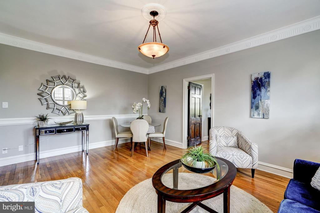 Central A/C + Hardwood Floors Throughout - 3900 CONNECTICUT AVE NW #506-G, WASHINGTON