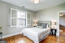 Bedroom with Plantation Shutters - 3900 CONNECTICUT AVE NW #506-G, WASHINGTON