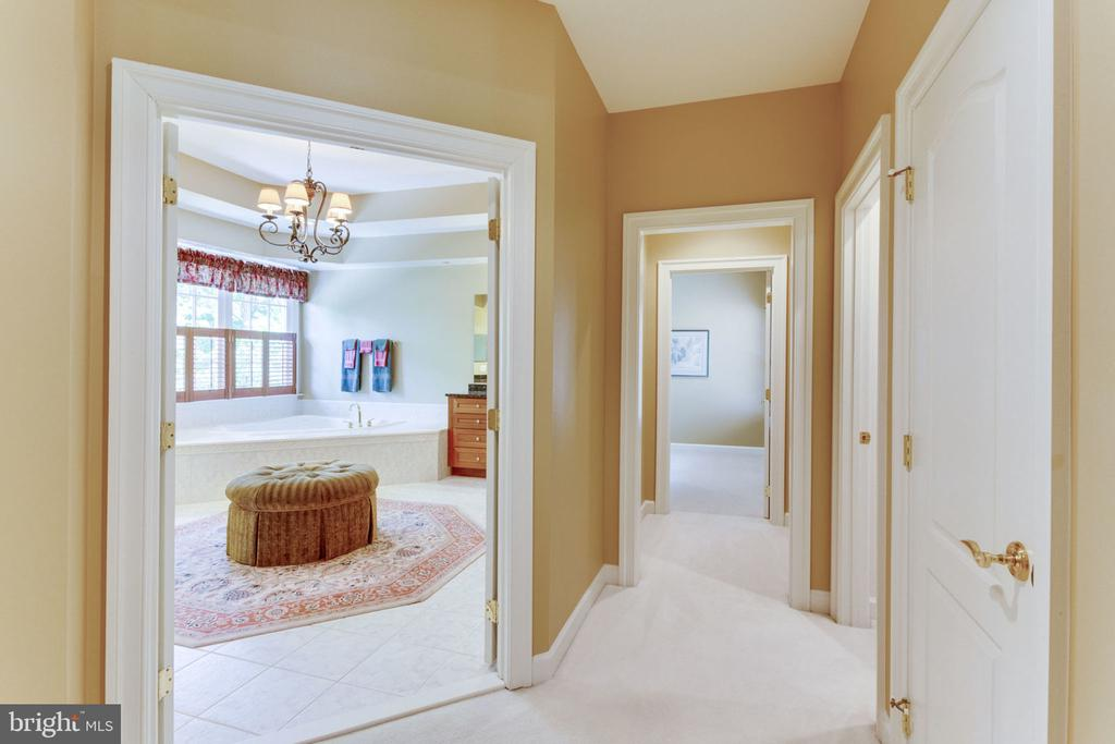Hallway to Master Bath! - 3530 SAINT AUGUSTINE LN, OAKTON