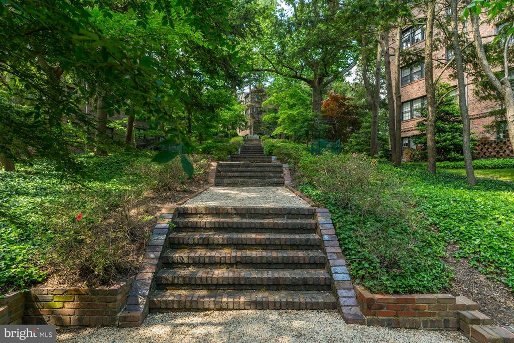 Garden with Private Walkways - 3900 CONNECTICUT AVE NW #506-G, WASHINGTON