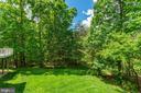 Peaceful oasis surrounding residence! - 3530 SAINT AUGUSTINE LN, OAKTON