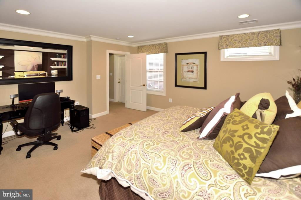 BEDROOM #5-LOWER LEVEL - 4653 AUTUMN GLORY WAY, CHANTILLY