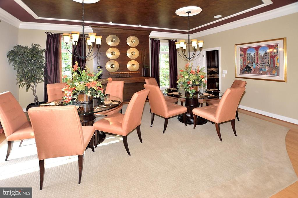 DINING ROOM - 4653 AUTUMN GLORY WAY, CHANTILLY