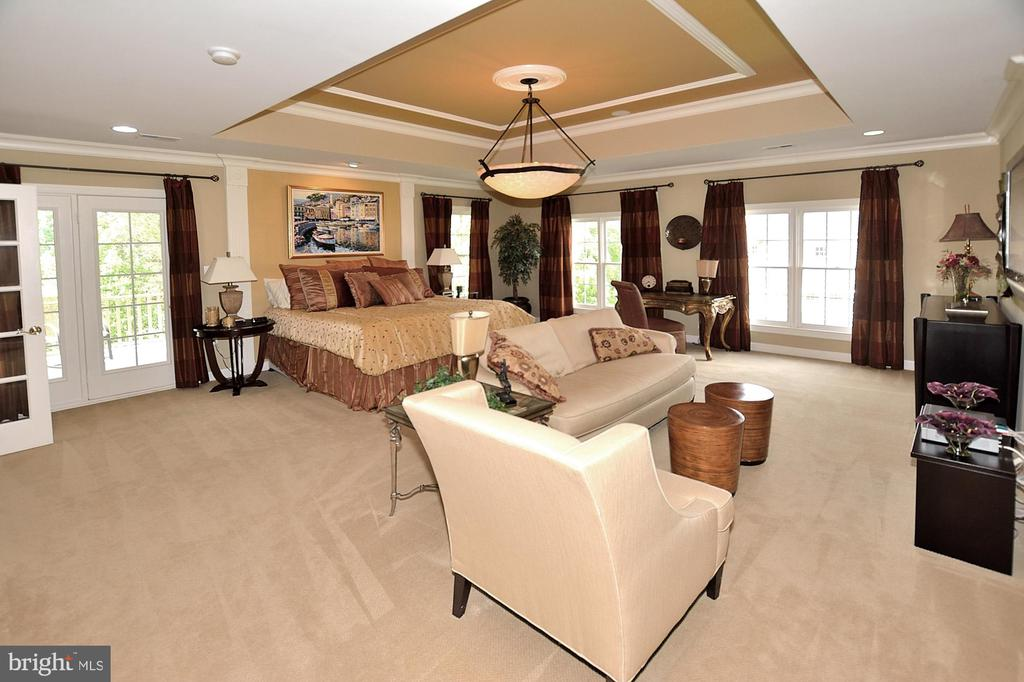 OWNERS SUITE WITH EXIT TO BALCONY - 4653 AUTUMN GLORY WAY, CHANTILLY