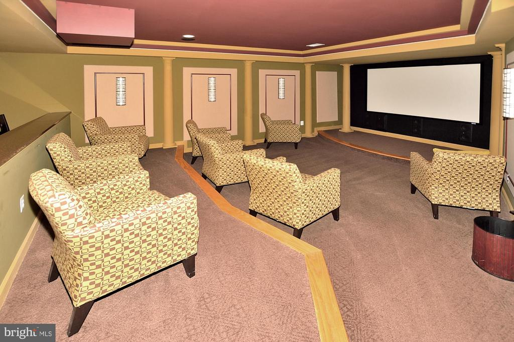 LOWER LEVEL MEDIA/THEATER ROOM - 4653 AUTUMN GLORY WAY, CHANTILLY