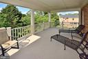 UPPER LEVEL BALCONY OFF OWNERS SUITE - 4653 AUTUMN GLORY WAY, CHANTILLY