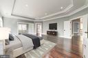 Master Bedroom (Virtually Staged) - 4030 18TH ST S, ARLINGTON
