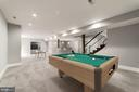 Ample Rec Room Area (Virtually Staged) - 4030 18TH ST S, ARLINGTON