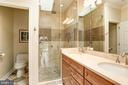 Upper Level Owner's Suite Bath - 3502 PINETREE TER, FALLS CHURCH